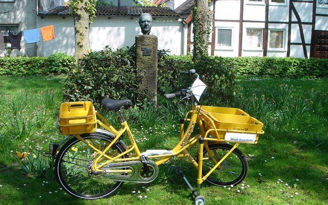Mit dem Fahrrad an der Ems